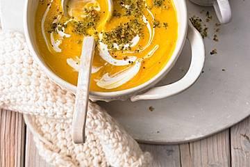 Pastinaken - Kürbis - Suppe