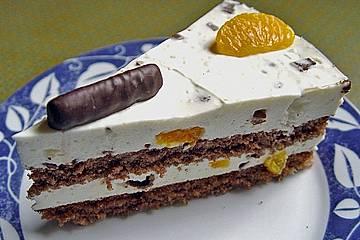 Erfrischungsstäbchen - Torte