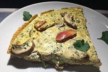 Pikantes Omelett