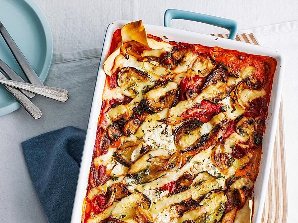 Leichte Lasagne mit Hüttenkäse von Callista   Chefkoch