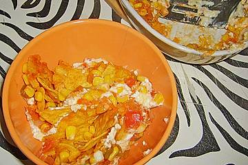 Mexikanischer Tomatenauflauf