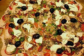 Italienischer pizzateig chefkoch