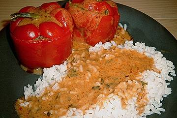 Köstlich gefüllte Paprika nach Jenni