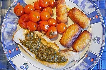Gertis Putenbraten mit Tomaten