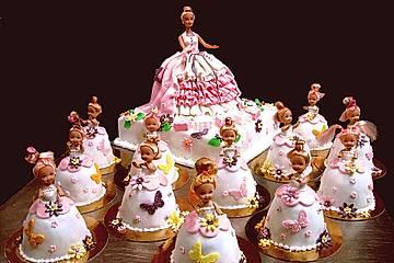 Prinzessinnen - Torte