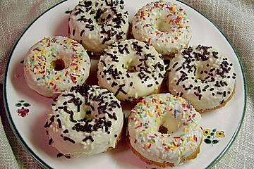 Orangen - Mandel - Donuts