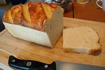 Franskbröd med Maelk (Franskbrot mit Milch)