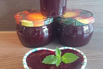 Kirsch - Minze - Marmelade