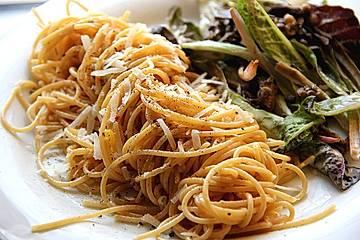 Spaghetti mit Trüffelöl