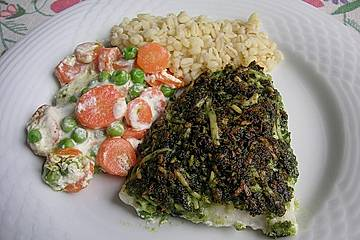 Fischfilets mit Bärlauchkruste