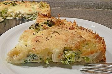 Brokkoli - Feta - Pie