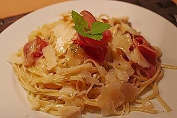 Pasta con Parma e Limone