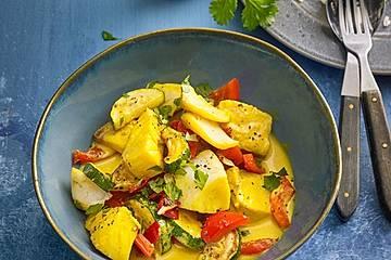 Curry-Fischragout