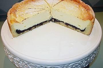 Mohn - Käse - Torte