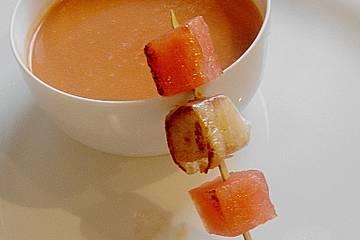 Wassermelonensuppe