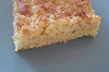 Sahne - Streuselkuchen