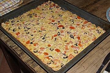 Spanischer Zwiebelkuchen