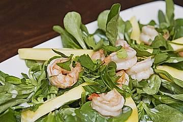 Garnelen - Mango Salat