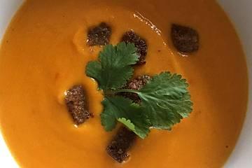 Kürbissuppe einfach und schnell
