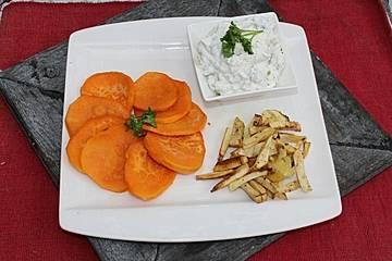 Glasierte Süßkartoffeln zu Thanksgiving