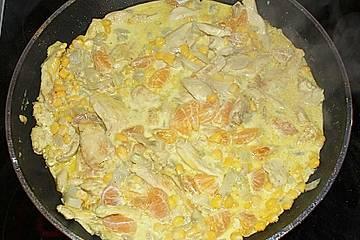 Exotisches Hähnchen - Curry mit Fenchel