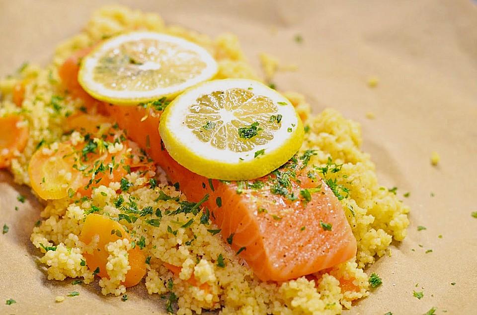 Fisch Mit Couscous