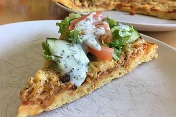 Quark - Öl - Teig für Pizza