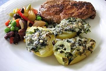 Kräuter - Käse - Backofenkartoffeln