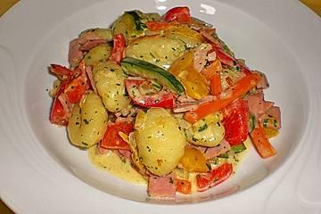Gnocchi - Gemüse - Pfanne