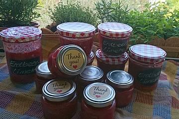 Erdbeer - Limetten - Marmelade