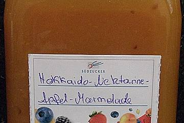 Kürbis - Äpfel - Nektarinen - Marmelade