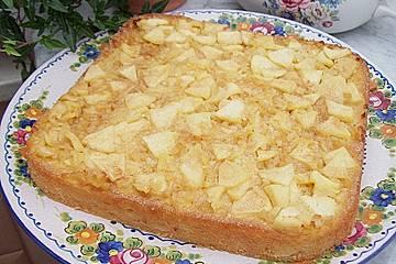 Apfelkuchen aus der Bretagne
