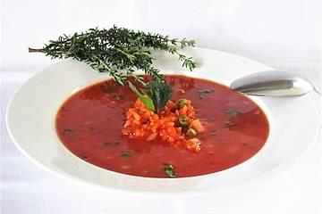 Einfache Tomatensuppe / Tomatensoße