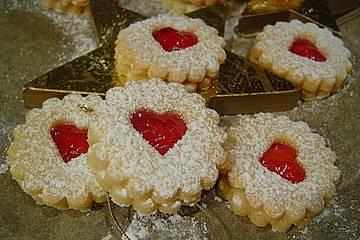 Deutsche Weihnachtsplätzchen.Butterplätzchen Weihnachtsplätzchen