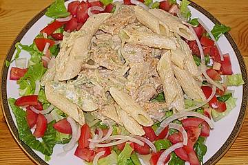 Puten - Gyros - Nudelsalat