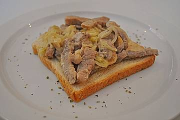 Fleisch-Toast