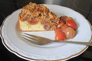 Stachelbeer - Streuselkuchen