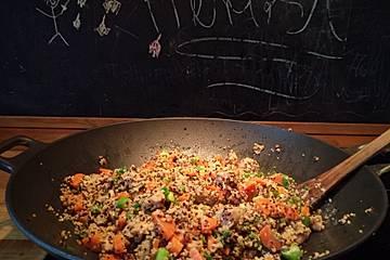 Quinoa - Hähnchen - Pfanne
