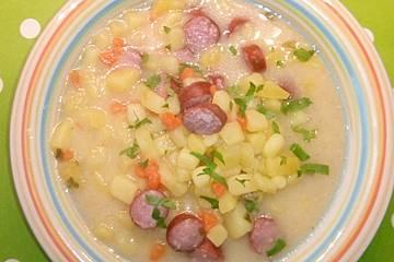 Buttermilch - Kartoffelsuppe