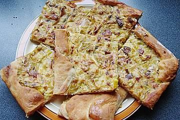 Porree - Kuchen