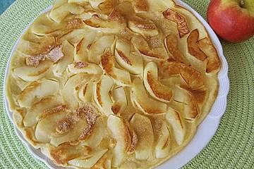Himmlisch zarte Apfelpfannkuchen