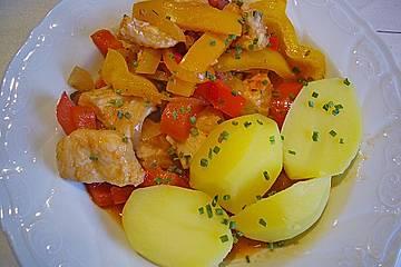 Dorsch - Paprika - Pfanne