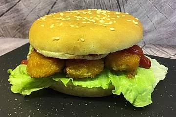 Fischstäbchen - Sandwich