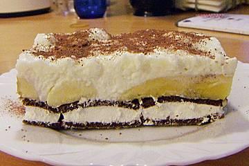 Milchschnitten - Kuchen