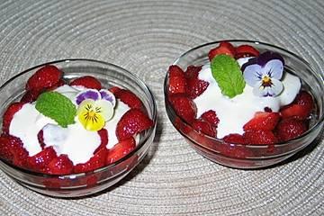 Erdbeersalat mit Mascarponecreme