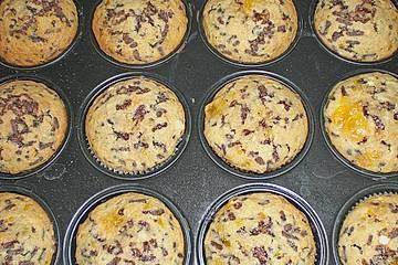 Mandarinen - Schokolade - Muffins