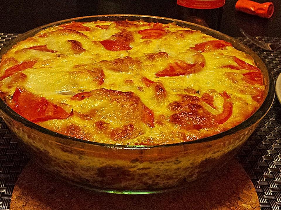 Zucchini Hack Mit Tomaten Und Mozzarella Chefkoch