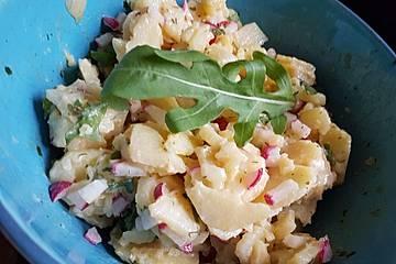 Salat von Frühkartoffeln