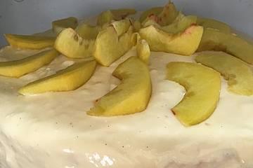 Pfirsich Maracuja Torte