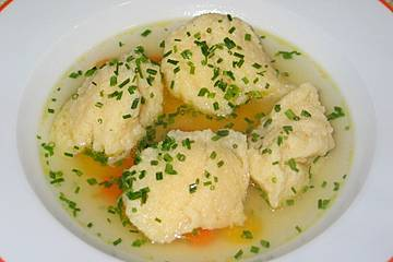 Schwammklößchensuppe